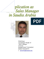 Are a Sales Manager
