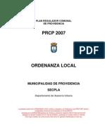Ordenanza Local v. 27 b - Prcp 2007 - Incl Modif en Rojo Sg Fe de Err Aprob x Minvu - 15 Jul 08[1]