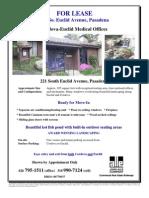 221 S. Euclid Avenue Brochure, Pasadena   for Lease