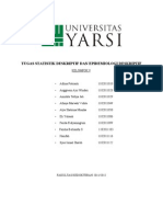 Tugas Statistik Deskriptif Dan Epidemiologi Deskriptif