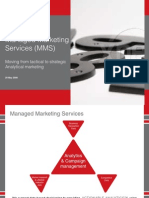 CEQUITY Analytics Managed Marketing Services