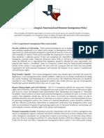 RITA Principles for Immigration Reform