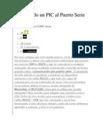 Conectando Un PIC Al Puerto Serie