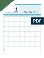 cps calendar 2013