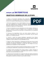 Proyecto de Matematicas 3 Ciclo