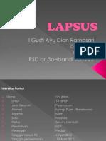 Lapsus Dr Edy Efusi