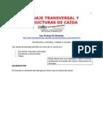 Drenaje Transversal y Estructuras de Caida - Rodrigo de Bastidas