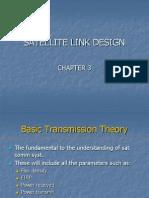 Satellite communications chapter 3:Satellite Link Design