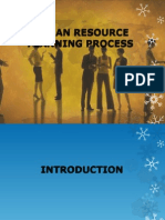 Human Resources (HR) Planning Process