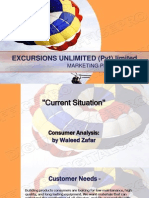 Excursions Unlimited (Marketing Plan)