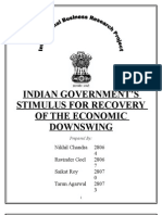 Indian Government Stimulus