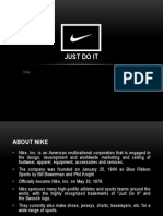 """Nike """"Just Do It"""" Success Behind the Campaign"""