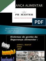 pb master -1ª capacitação colaboradores