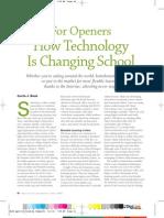 كيف تغير التكنولوجيا المدارس
