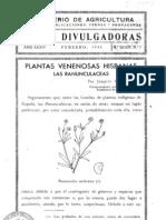 Plantas venenosas hispanas - Las ranunculaceas 1942.pdf
