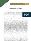 A farsa da alfabetização - Ananda Coomaraswamy