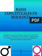 BASES CONCEPTUALES EN SEXOLOGÍA