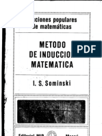 Método de Inducción Matemática_Sominski,1975.