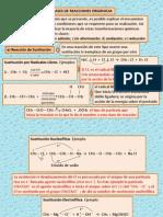 Clases de Reacciones Organicas 2