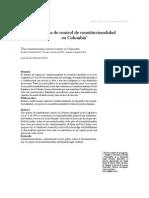 Sistema Control Constitucionalidad Colombia
