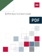 SPSS Base User's Guide 15.0