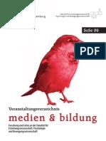 Vorlesungsverzeichnis Medien&Bildung Sommersemester 2009