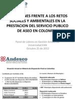 presentación ANDESCO