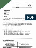 NBR 9457 - Ladrilho Hidráulico - Especificação
