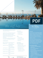 Factsheet Hotel The Cliff Bay (DE)