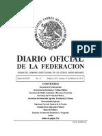 SPA y PNPD Diario Oficial
