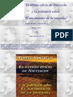 6792990 AbrahamT Sucar El Ultimo Oficio de Nietzsche y La Polemica Sobre El Nacimiento de La Tragedia