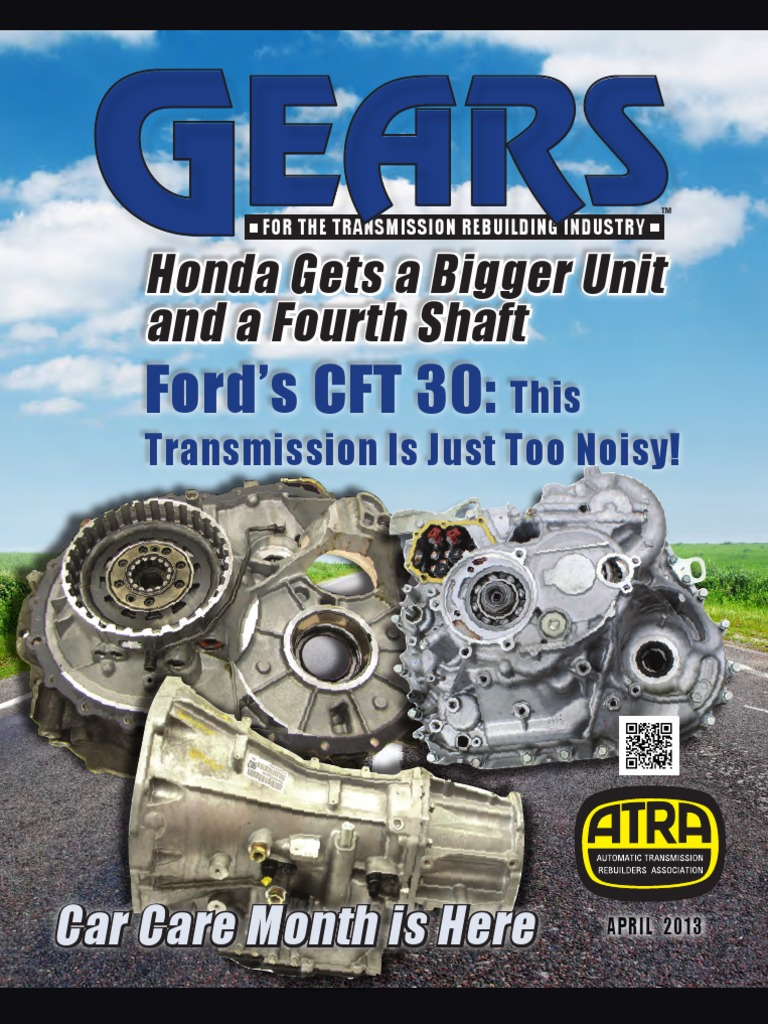 April 2013 Gears Magazine Throttle Transmission Mechanics Manual Diagram Schaeffler Eclutch Changing The Way