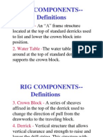 RIG COMPONENTS.PPT