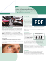 A Level Psychology SM Automobile Destruction Poster