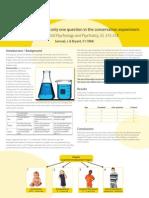 A Level Psychology SM Conservation Poster