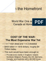 ww1 on the homefront