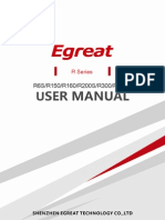 Egreat user manual for 1186