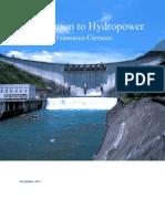 Introduction to Hydropower Francesco Carrasco