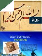 Self Sufficient Pakistan