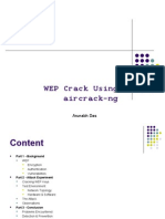 WEP Crack Using aircrack-ng by Arunabh Das