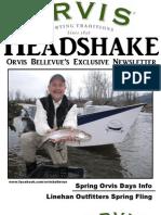Orvis Bellevue April Newsletter