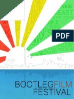 Bootleg Film Festival Toronto Program 2012