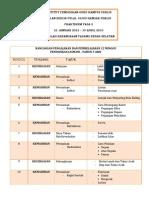 Rancangan Pengajaran Dan Pembelajaran 12 Minggu Pendidikan Jasmani