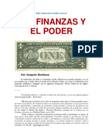 LAS FINANZAS Y EL PODER - Por Joaquín Bochaca