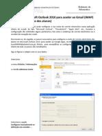 Configurar Microsoft Outlook 2010 Para Aceder Ao Gmail (IMAP)