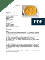 Kuchen de Durazno