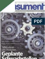 Konsument - Das Österreichische Testmagazin, 2-2013