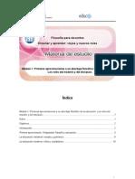 Modulo 1. Los Roles Del Maestro y Del Discipulo