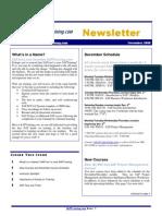 SAPTraining.com Newsletter November 2008