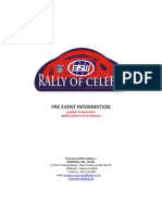 Pre Event Information Celebes Rally REV 02APRL